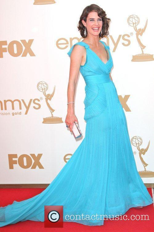 Cobie Smudler,  at the 63rd Primetime Emmy...