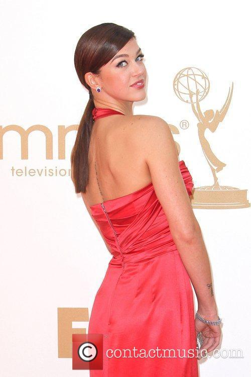 Adriana Pailicki,  at the 63rd Primetime Emmy...