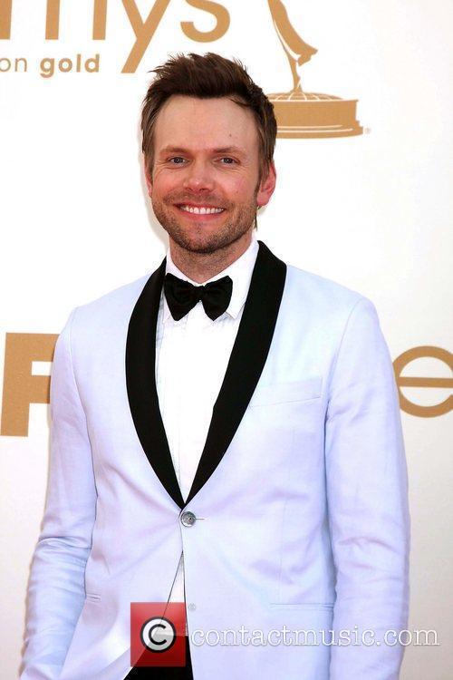 Joel McHale,  at the 63rd Primetime Emmy...