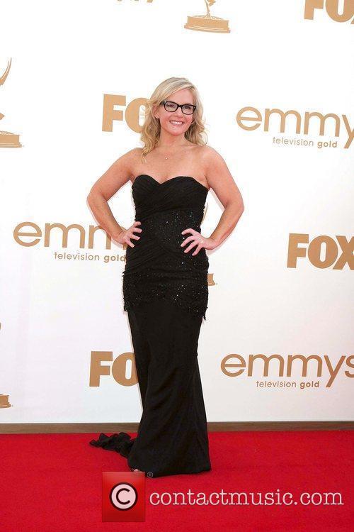 Rachael Harris,  at the 63rd Primetime Emmy...