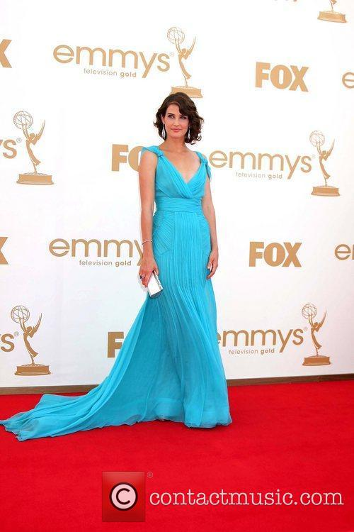 Cobie Smulders,  at the 63rd Primetime Emmy...