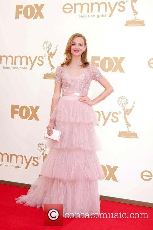 Jayma Mays,  at the 63rd Primetime Emmy...