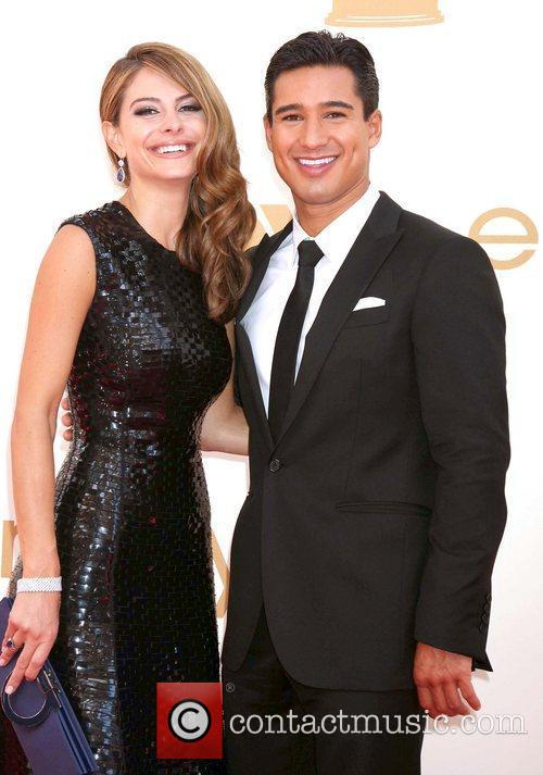 Maria Menounos, Mario Lopez and Emmy Awards 4
