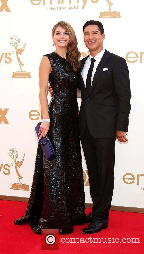 Maria Menounos, Mario Lopez and Emmy Awards 5