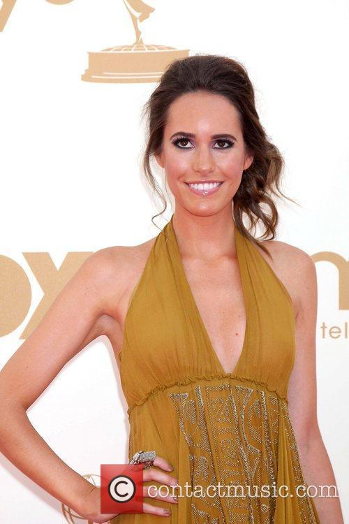 Louise Roe,  at the 63rd Primetime Emmy...