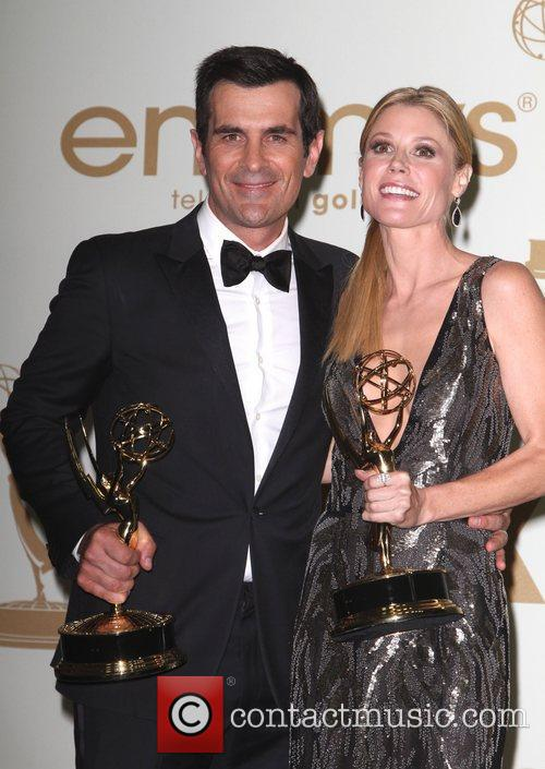 Julie Bowen and Ty Burrell  The 63rd...