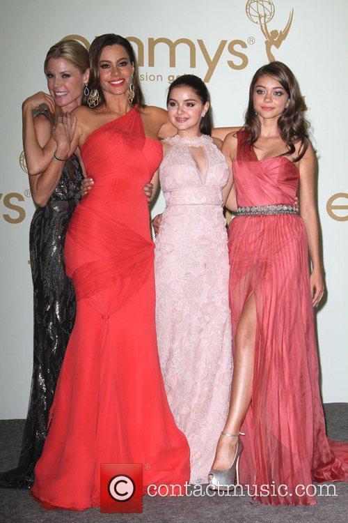Julie Bowen, Sofia Vergara, Ariel Winter and Sarah...