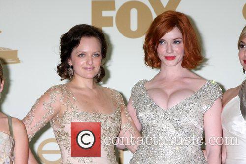 Elisabeth Moss, Christina Hendricks and Emmy Awards 4