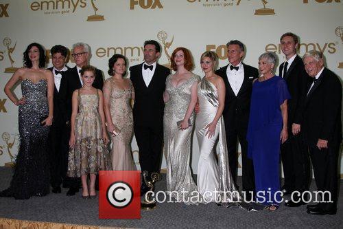 Elisabeth Moss, Christina Hendricks, Jon Hamm, Robert Morse and Emmy Awards 3