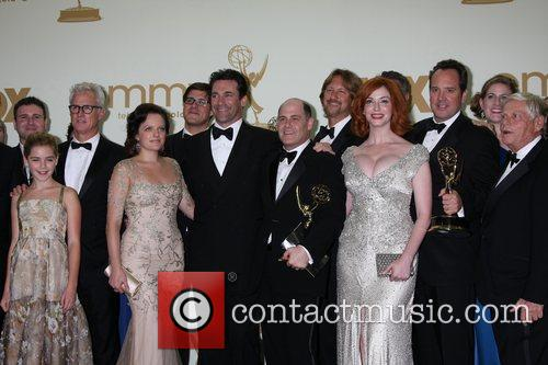 Elisabeth Moss, Christina Hendricks, Jon Hamm and Emmy Awards 1