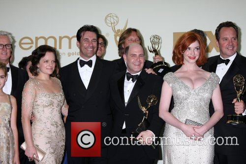 Elisabeth Moss, Christina Hendricks, Jon Hamm and Emmy Awards 2