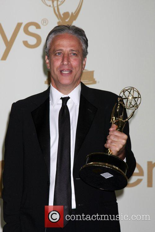 Jon Stewart, Emmy Press Room