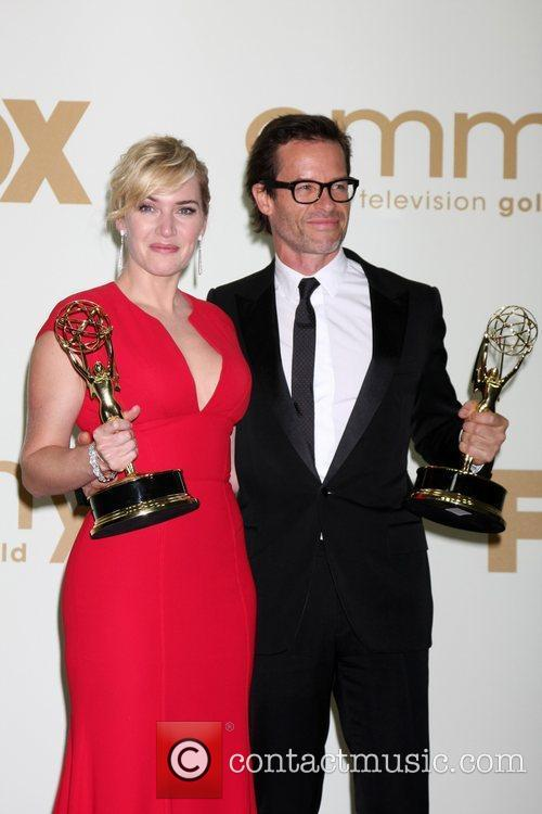 Kate Winslet and Guy Pearce The 63rd Primetime...