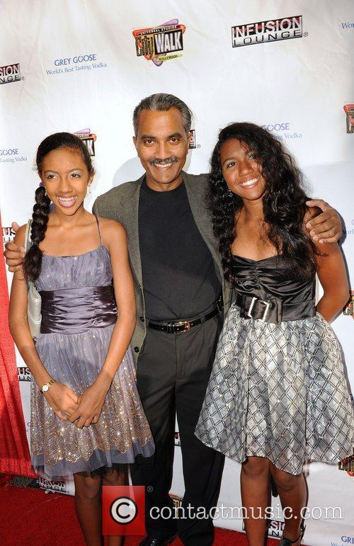 Duncan Bravo and guests 100 Starz Emmy Viewing...