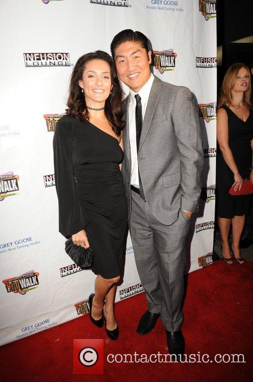 Mirely Taylor and Brian Tee 100 Starz Emmy...