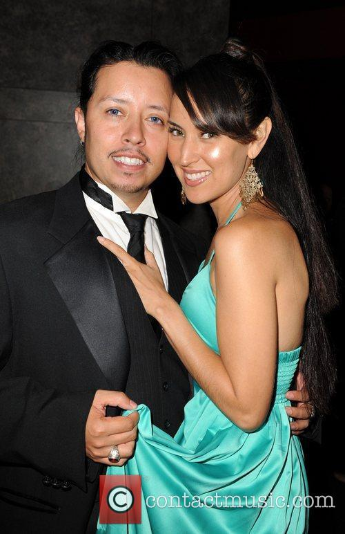 Carlos Ramirez and Burgandi Phoenix 100 Starz Emmy...