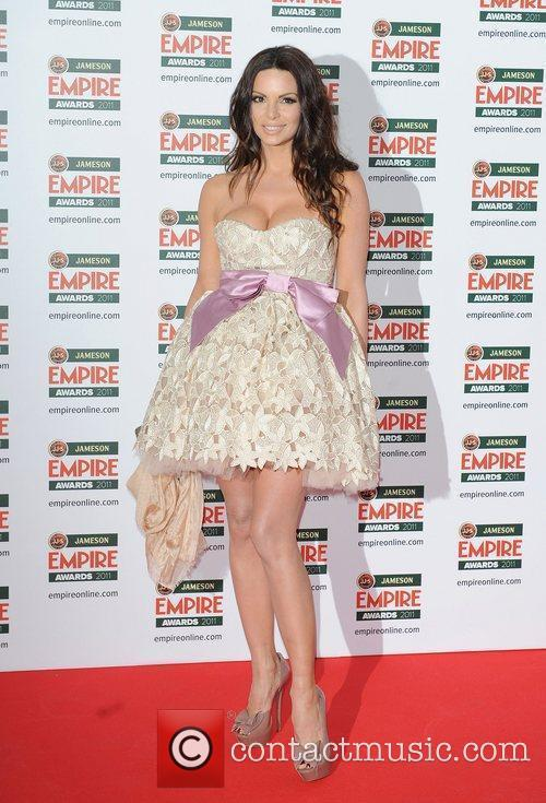 Nikolina Pisek The Jameson Empire Awards held at...