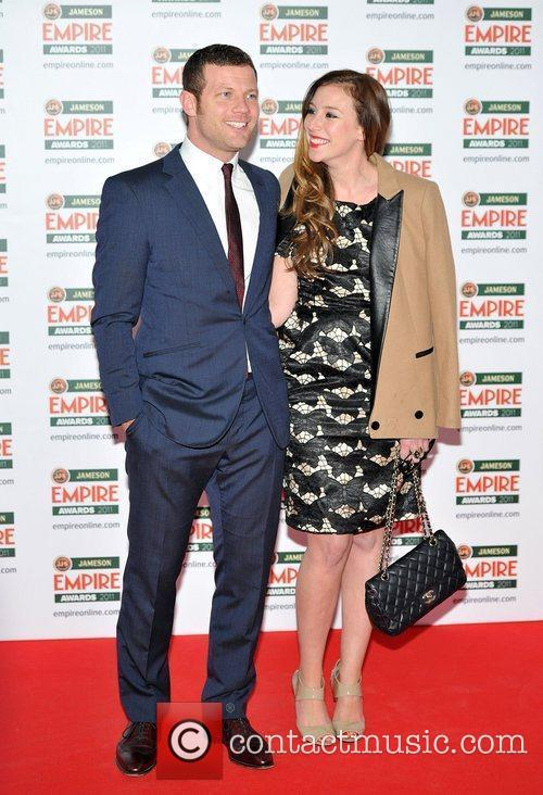 Dermot O'Leary and guest The Jameson Empire Awards...