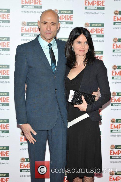 Mark Strong and guest The Jameson Empire Awards...