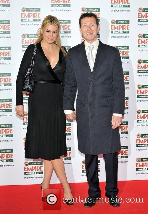 Nick Moran and guest The Jameson Empire Awards...
