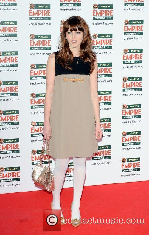 Ophelia Lovibond The Jameson Empire Awards held at...