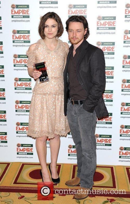 Keira Knightley and James McAvoy The Jameson Empire...