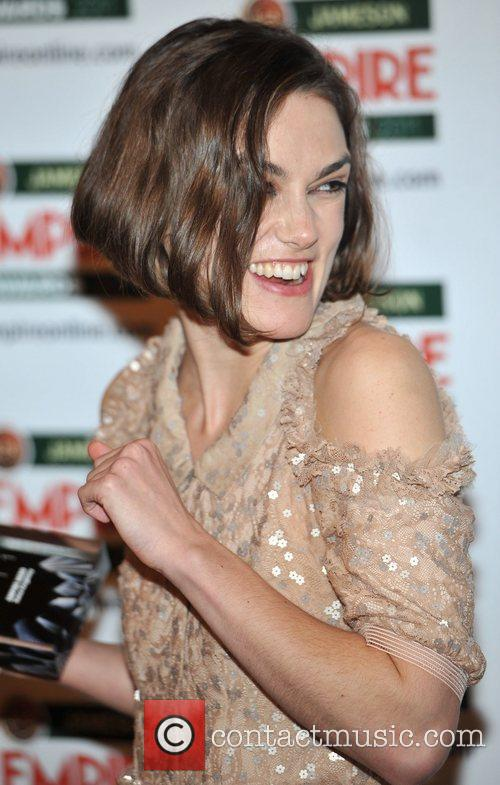 Keira Knightley The Jameson Empire Awards held at...