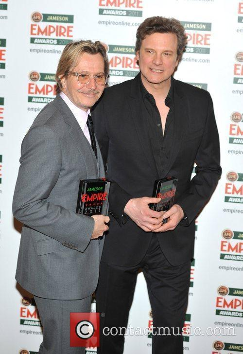 Gary Oldman, Colin Firth, Grosvenor House