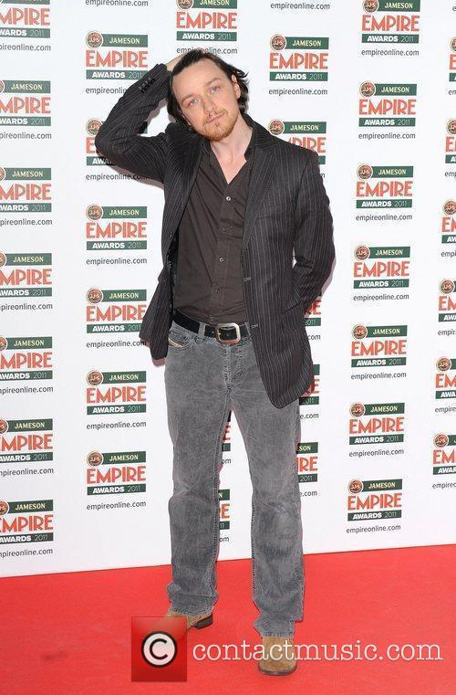 James McAvoy The Jameson Empire Awards held at...