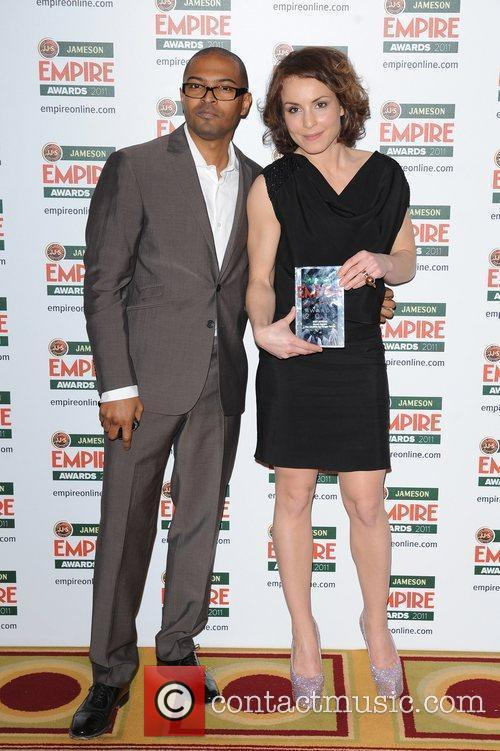 Noel Clarke and Noomi Rapace The Jameson Empire...