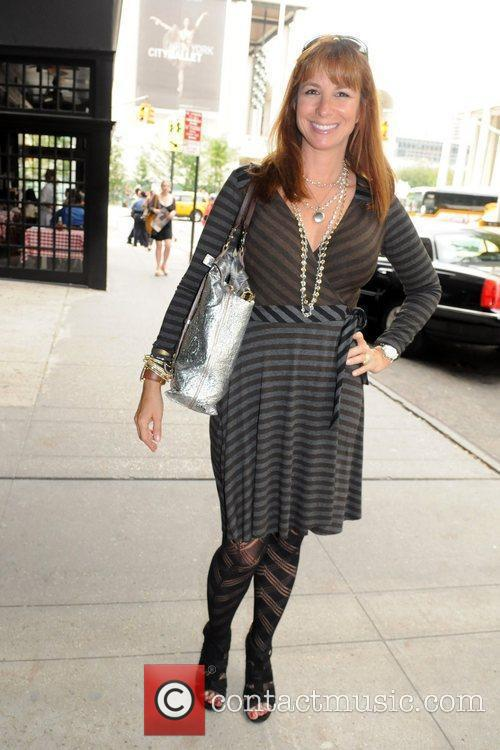 Jill Zarin Empire Hotel gifting suite New York...