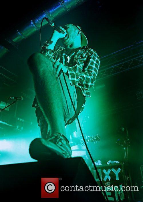 Enter Shikari perform live at Liverpool's O2 Academy...