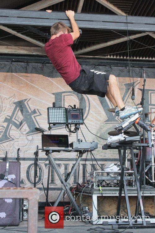 Enter Shikari performing at the 2011 Vans Warped...