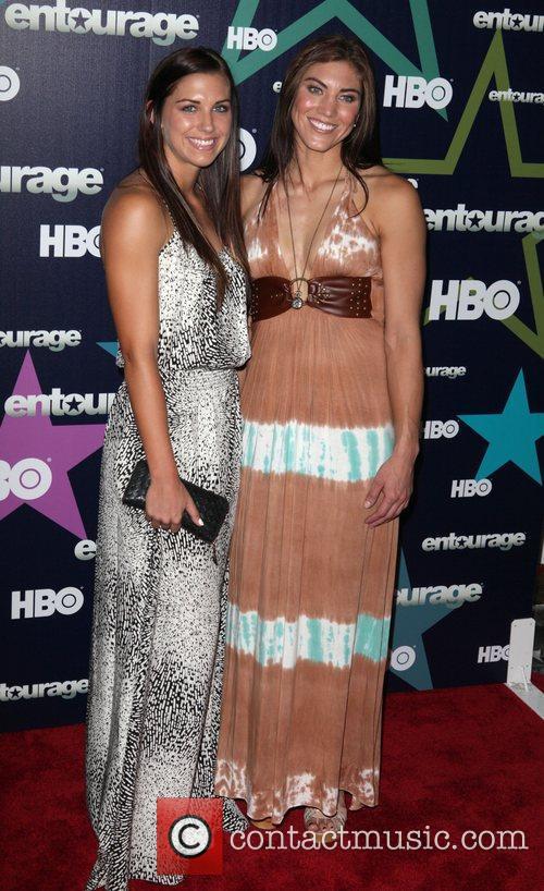 Alice Morgan,  Final season premiere of HBO's...