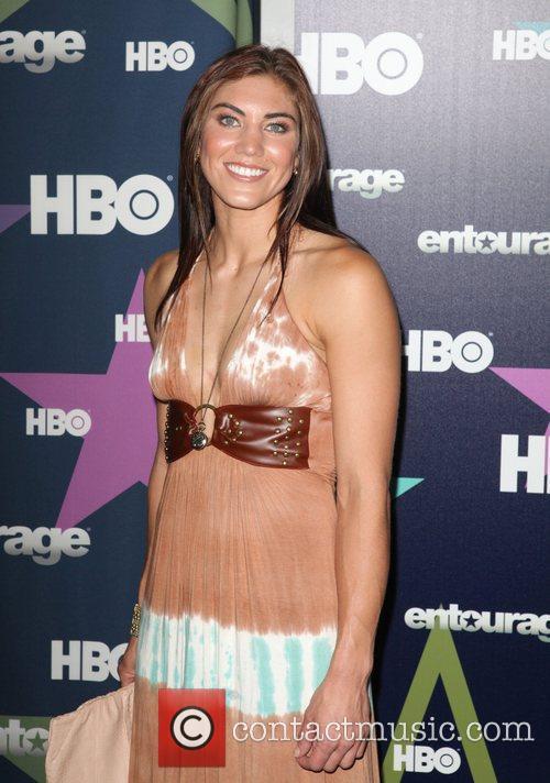 Hope Solo Final season premiere of HBO's 'Entourage'...