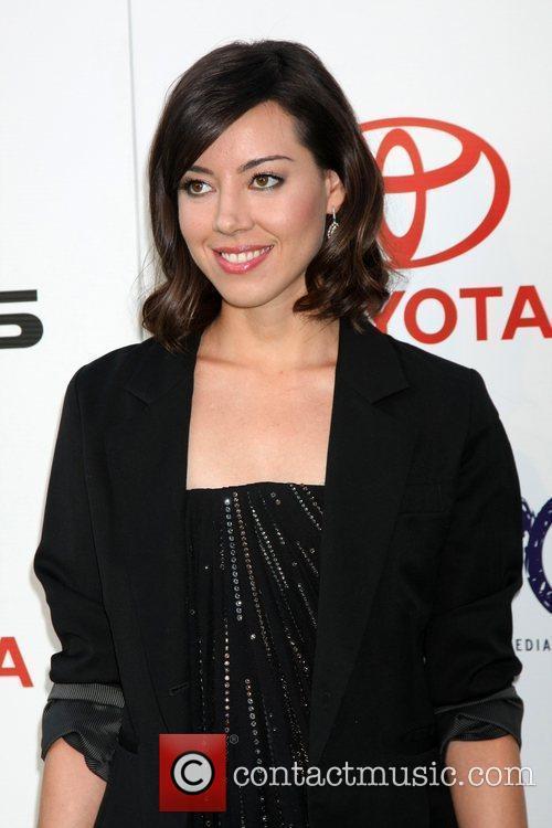 Aubrey Plaza  The 2011 Environmental Media Awards...