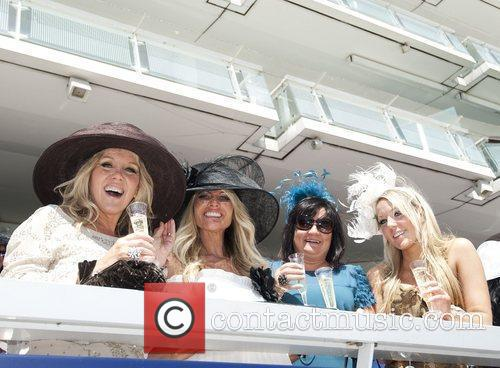 'Ladies Day' at Epsom horse racing meeting at...