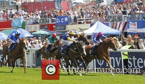 Charles Camoin and Liam Keniry winning the first...