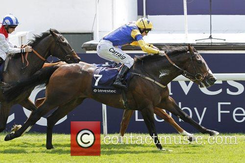 Winning the first race of The Derby Stakes...