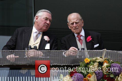 Duke of Edinburgh attends The Derby Stakes at...