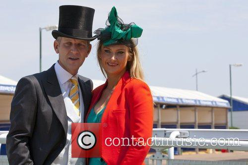 Jeremy Kyle and Carla Germaine  attend The...