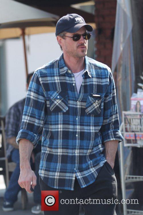 Eric Dane departs Kings Road Cafe Los Angeles,...