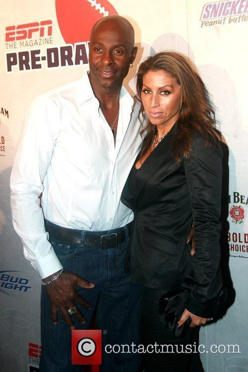 Jerry Rice and Latisha Pelayo ESPN magazine's '8th...