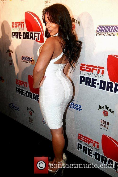 Melyssa Ford ESPN magazine's '8th Annual Pre-Draft Party'...