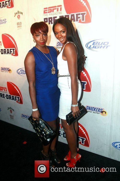 Estelle and Tika Sumpter ESPN magazine's '8th Annual...