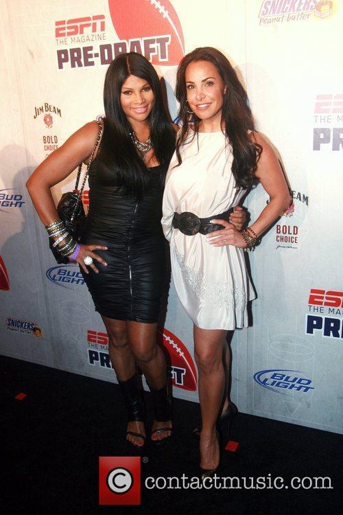 Pepa of Salt-N-Pepa and Joumana Kidd  ESPN...