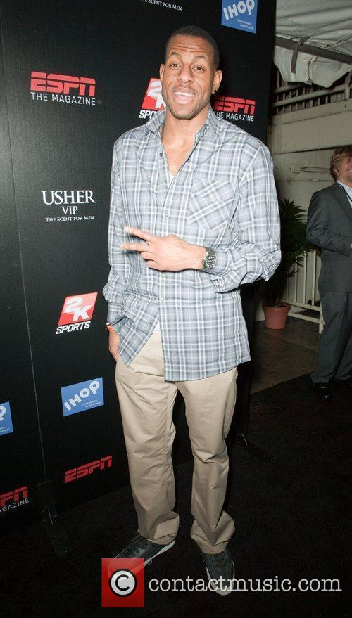 Andre Iguodala ESPN The Magazine after dark NBA...