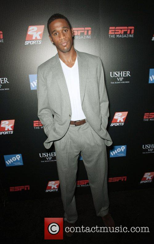 ESPN The Magazine after dark NBA All-Star party...