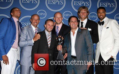 Jason Kidd, Chandler and Mark Cuban 6