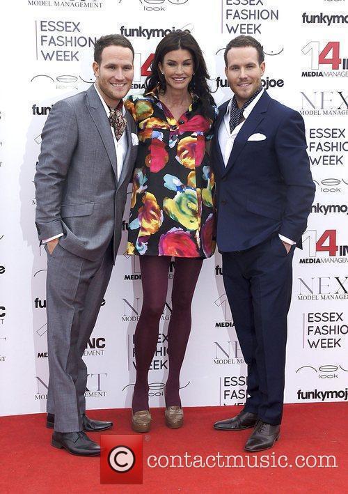 Janice Dickinson, Adam Ryan and Simon Ryan VIP...
